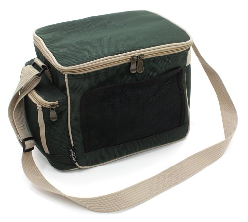 Greenfield Collection CB001H - Bolsa nevera de lujo, liviana, 15 l, color verde bosque 2