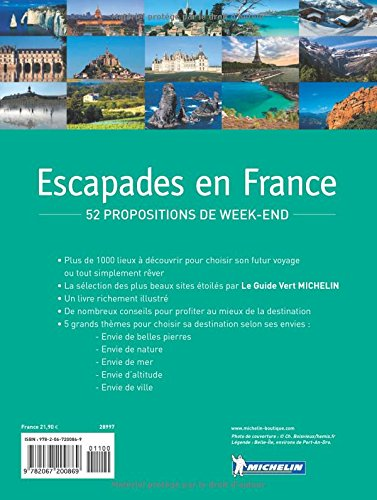 Escapades en camping-car France 2015 [ Motor Home - RV Travel Road Trip Planner ] (French Edition) 1