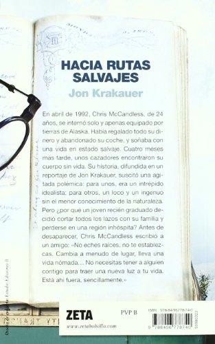 HACIA RUTAS SALVAJES (BEST SELLER ZETA BOLSILLO) 1