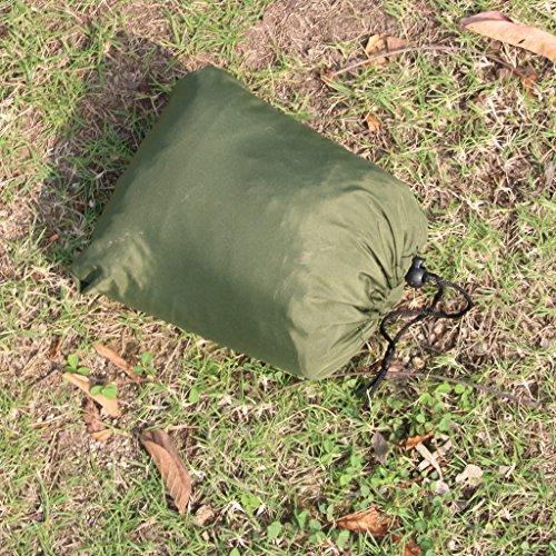 Travel Outdoor Camping Tent Hanging Hammock Sleeping Bed w/ Sack 3