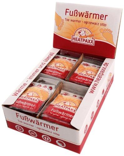 HeatPaxx HX101 Foot Warmers Display Box of 40 Pairs by Heatpaxx 1