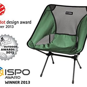 Big Agnes – Helinox – Chair One, The Ultimate Camp Chair, Green