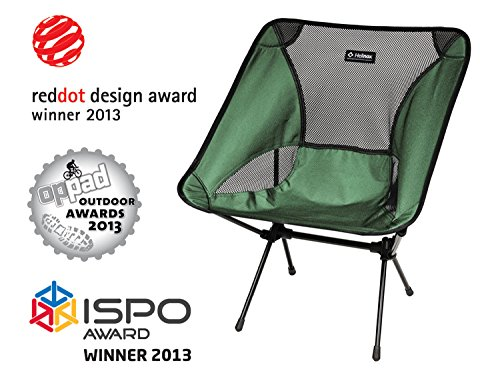 Big Agnes - Helinox - Chair One, The Ultimate Camp Chair, Green 3