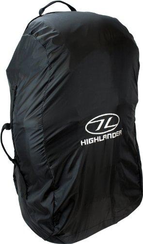 Highlander - Funda para mochila tamaño medio, color negro, 78 x 45 x 4 cm, ACC006 1
