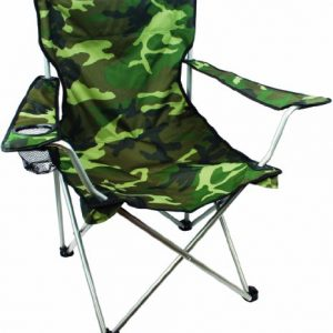 Highlander Outdoor Moray Camp Chair with Arms, Camo