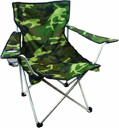 Highlander Outdoor Moray Camp Chair with Arms, Camo 3
