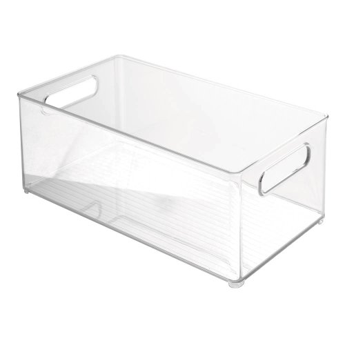 InterDesign Linus Freeze Binz - Organizador, 20,3 x 15,2 cm, color transparente 1