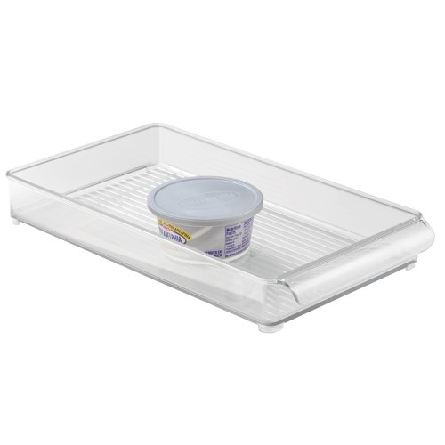 InterDesign Linus Fridge - Organizador, 20 x 37 x 5 cm, color transparente 1