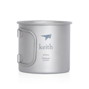 Keith 350ml Titanium Cup Camping Mug Outdoor Cup Only 56g 13