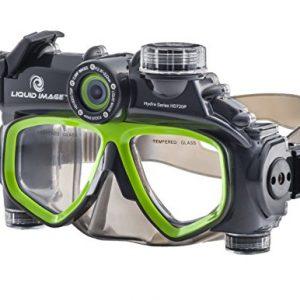 Liquid image 305G - Videocámara deportiva (12 Mp, 720p, 30 fps), gris y verde (importado) 7