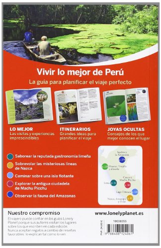 Lonely Planet Lo Mejor de Peru (Travel Guide) (Spanish Edition) 1