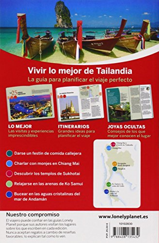 Lonely Planet Lo Mejor de Tailandia (Travel Guide) (Spanish Edition) 1