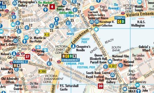 Laminated London Map by Borch (English Edition) 2