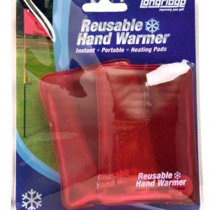 Longridge Gahwr2 Unisex Hand Warmer Reusable Red Pack of 2 2