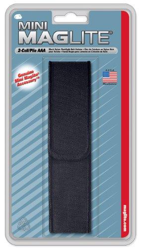 Maglite Black Nylon Full Flap Holster for AAA Mini 1