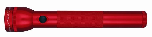 Maglite LED 3-Cell D Flashlight, Red