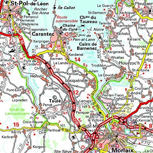 Brittany MH512 (Michelin) 1:200K (Maps/Regional (Michelin)) 1