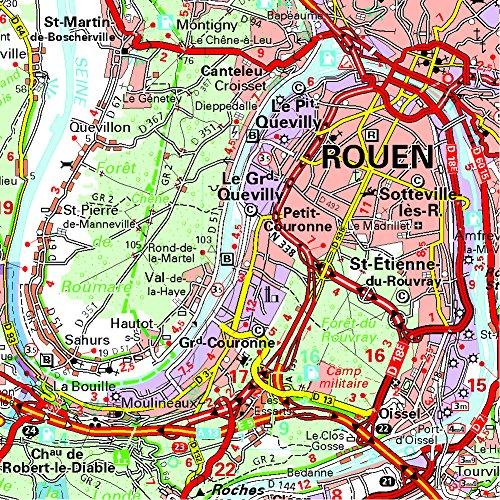 Michelin Map France: Normandy 513 (Maps/Regional (Michelin)) 1