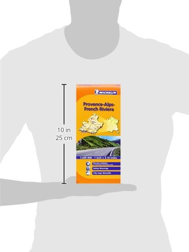 Provence French Riviera 527 Maps/Regional Michelin (English and French Edition) 2