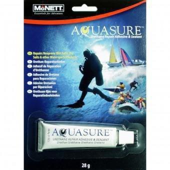 McNett 28 - Set de reparación para tiendas de campaña, color transparente, talla UK: 28 g 14