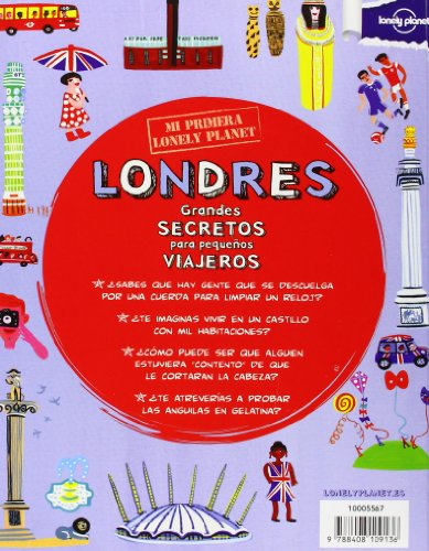 Mi Primera Lonely Planet Londres 1 (Lonely Planet Not for Parents) (Spanish Edition) 1