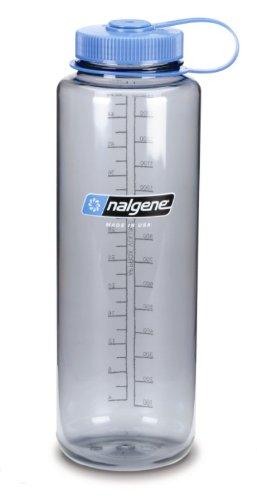 Nalgene NL21780048 - Bidón con boca ancha de acampada y senderismo, color gris 1