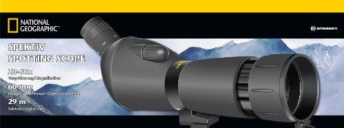 National Geographic 9057000 - Catalejo (ampliación entre 20 - 60x), color negro 3