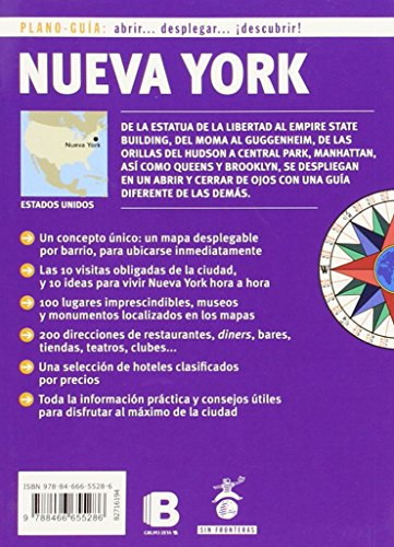 Nueva York. Plano guia 2015 (Spanish Edition) 1