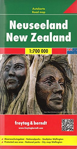 New Zealand FB 1:700K 2013*** (English, French and German Edition) 1
