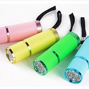 OEM Intsun - Linterna LED don diseño resistente al agua, color negro 4