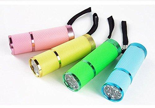 OEM Intsun - Linterna LED don diseño resistente al agua, color negro 2