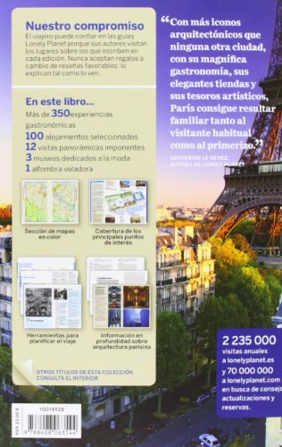 Lonely Planet Paris (Travel Guide) (Spanish Edition) 1