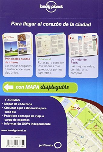 Lonely Planet Paris De cerca (Travel Guide) (Spanish Edition) 1