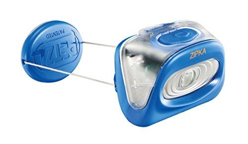 Petzl - ZIPKA Headlamp 80 Lumens, Victoria Blue 6