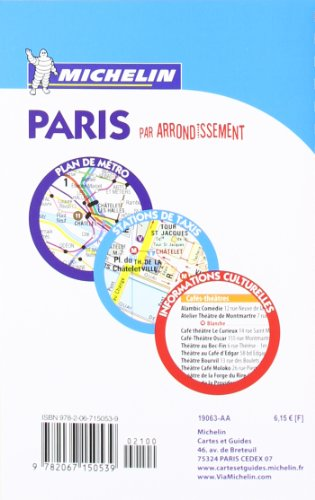 """Paris par arrondissement ; 63"" (French Edition) 2"