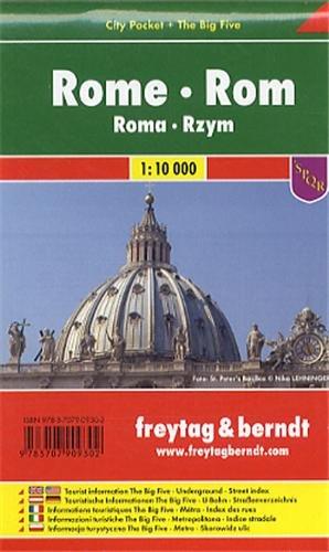 Rome City Pocket Map FB (English, Spanish, French, Italian and German Edition)