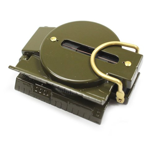 SODIAL(TM) Brujula Militar de Marcha Mil-Spec Tritio Iluminado