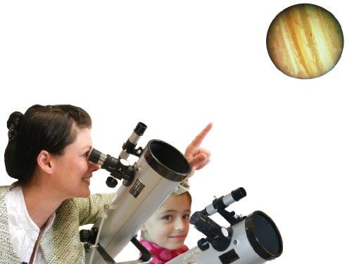 Seben 700-76 Telescopio reflector Big Pack incluido 2