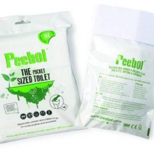 SHEWEE Peebol - loo de bolsillo - paquete de 6 4
