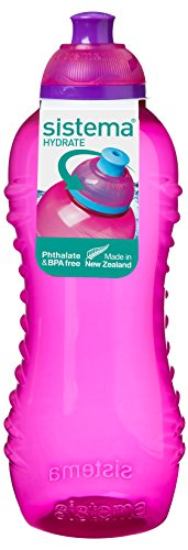 Sistema 802 – Botella de plástico, 460 ml, color rosa