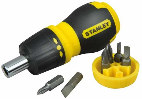 Stanley - Multibit Stubby Screwdriver With Bits 7