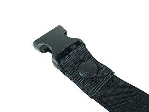 Tatonka Rucksack - Correa de correa, tamaño 25mm, color negro 1