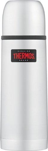 Thermos - Termo (acero inoxidable, compacto y ligero, 0,35 L), color plateado 4