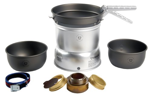 TRANGIA 27-7 UL Hard Anodized Stove Kit 7