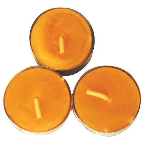 UCO Natural Beeswax Tealight Candles (Pack of 3)
