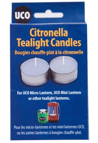 UCO Citronella Tealight Candles (Pack of 6) 8