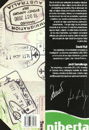 Viajes y viajeros. La aventura de viajar: Desde los orígenes hasta nuestros días (niberta - Cuadernos Livingstone) 1