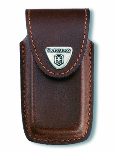 Victorinox Swiss Army SwissChamp Pouch, Leather 4