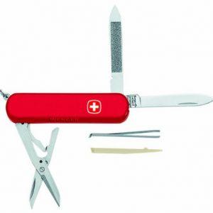 Schweizer Taschenmesser Executive 81, 5-teilig, rot, 11