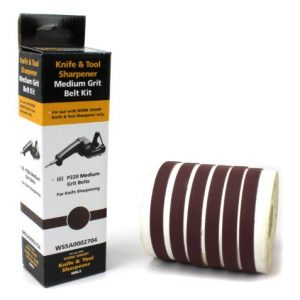 Work Sharp WSSA0002704 Medium 220 Replacement Belt Kit (WSKTS & WSKTS-KT Only)